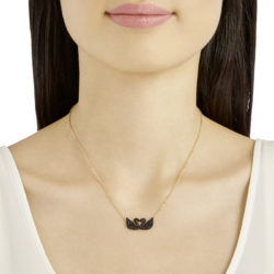 Iconic Swan Double Necklace 7