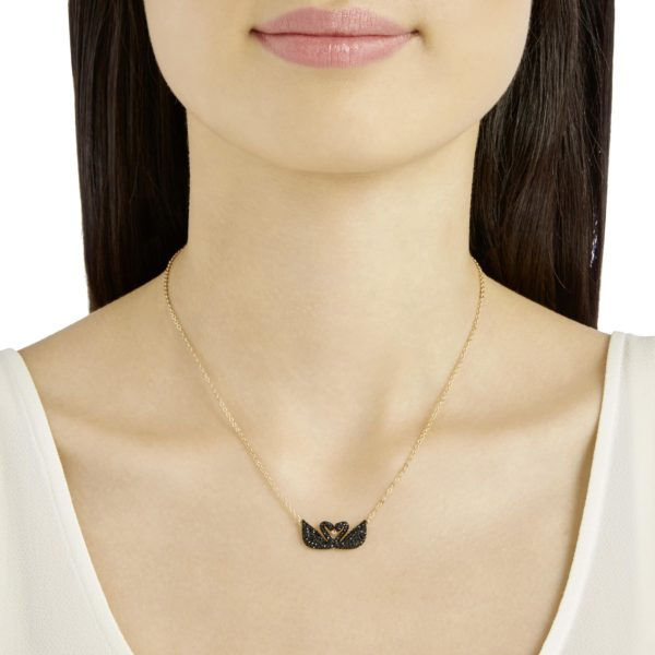 Iconic Swan Double Necklace 4