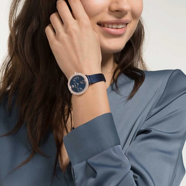 Crystal Frost Blue Watch 4
