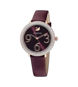 Crystal Frost Dark Red Watch 7