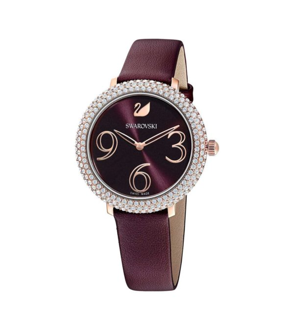 Crystal Frost Dark Red Watch 5
